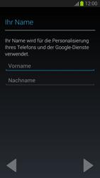 Samsung Galaxy S III - Apps - Einrichten des App Stores - Schritt 5