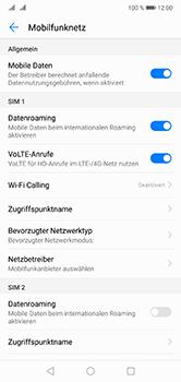 Huawei P20 Lite - Ausland - Im Ausland surfen – Datenroaming - 9 / 11