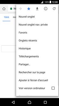 Sony Xperia Z5 Premium - Android Nougat - Internet - navigation sur Internet - Étape 12