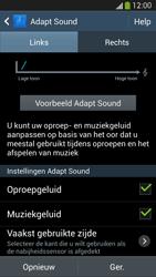 Samsung I9505 Galaxy S IV LTE - Adapt Sound - Adapt Sound instellen - Stap 11