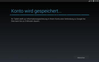 Samsung T805 Galaxy Tab S - Apps - Einrichten des App Stores - Schritt 16