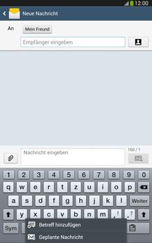 Samsung Galaxy Tab 3 8-0 LTE - MMS - Erstellen und senden - 12 / 24