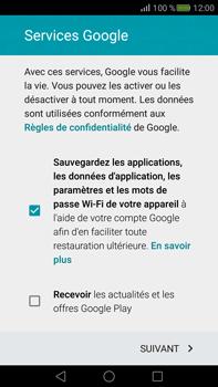 Huawei Mate S - Applications - Créer un compte - Étape 15