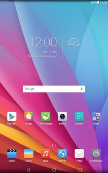 Huawei MediaPad T1 (10.0) LTE - Fehlerbehebung - Handy zurücksetzen - Schritt 4