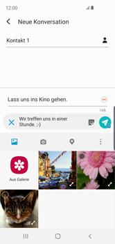 Samsung Galaxy S10e - MMS - Erstellen und senden - Schritt 19