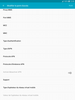 Samsung T815 Galaxy Tab S2 9.7 - Internet - Configuration manuelle - Étape 12