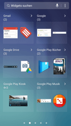 Samsung Galaxy S6 - Android Nougat - Startanleitung - Installieren von Widgets und Apps auf der Startseite - Schritt 5
