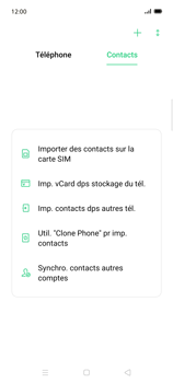 Oppo Find X2 Lite - Contact, Appels, SMS/MMS - Ajouter un contact - Étape 4