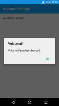 Sony Xperia Z5 Premium (E6853) - Voicemail - Manual configuration - Step 9