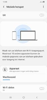 Samsung Galaxy A10 - Internet - mijn data verbinding delen - Stap 7