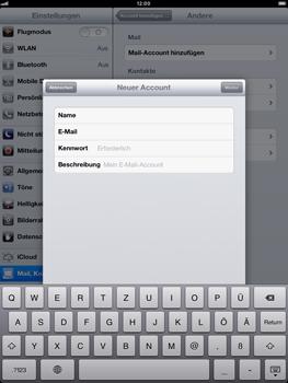 Apple iPad mini - E-Mail - Manuelle Konfiguration - Schritt 12