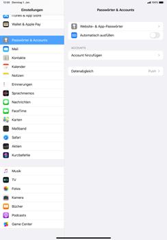 Apple iPad Pro 10.5 (1st gen) - iPadOS 13 - E-Mail - Manuelle Konfiguration - Schritt 4