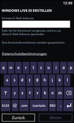 Nokia Lumia 800 - Apps - Konto anlegen und einrichten - 16 / 22