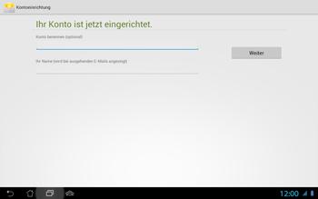 Asus Padfone 2 - E-Mail - Konto einrichten - 1 / 1