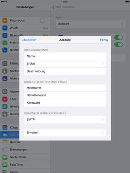 Apple iPad Air - E-Mail - Konto einrichten - 21 / 27