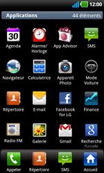 LG P970 Optimus Black - Internet - navigation sur Internet - Étape 2