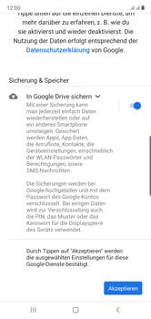 Samsung Galaxy Note 10 - Apps - Einrichten des App Stores - Schritt 18