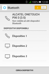 Alcatel Pixi 3 (3.5) - Bluetooth - Collegamento dei dispositivi - Fase 6