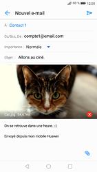 Huawei P9 - Android Nougat - E-mail - envoyer un e-mail - Étape 14