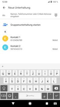 Sony Xperia XZ2 Premium - Android Pie - MMS - Erstellen und senden - Schritt 7