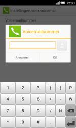 Alcatel Pop S3 (OT-5050X) - Voicemail - handmatig instellen - Stap 10