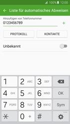 Samsung Galaxy S5 Neo - Anrufe - Anrufe blockieren - 0 / 0