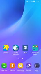 Samsung Samsung Galaxy J3 2016 - Operazioni iniziali - Installazione di widget e applicazioni nella schermata iniziale - Fase 3