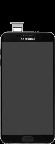 Samsung G928F Galaxy S6 edge+ - SIM-Karte - Einlegen - Schritt 4