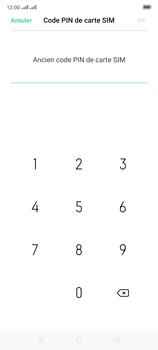 Oppo Reno 2 - Sécuriser votre mobile - Personnaliser le code PIN de votre carte SIM - Étape 8