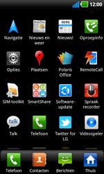 LG P970 Optimus Black - Voicemail - handmatig instellen - Stap 3