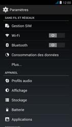 Wiko jimmy - Internet et roaming de données - Configuration manuelle - Étape 4