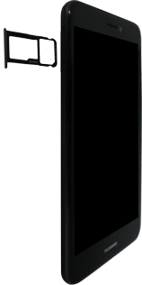Huawei P8 Lite 2017 - SIM-Karte - Einlegen - 3 / 8
