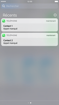 Apple Apple iPhone 6s Plus iOS 10 - iOS features - Personnaliser les notifications - Étape 11