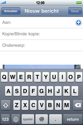 Apple iPhone 3G - e-mail - hoe te versturen - stap 7