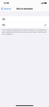 Apple iPhone X - iOS 14 - Réseau - Comment activer une connexion au réseau 4G - Étape 6