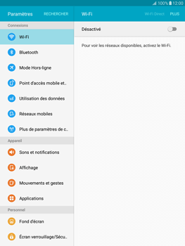 Samsung T815 Galaxy Tab S2 9.7 - Internet - Configuration manuelle - Étape 4