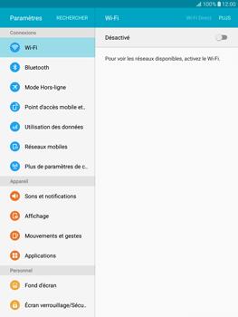 Samsung T815 Galaxy Tab S2 9.7 - Réseau - Sélection manuelle du réseau - Étape 4