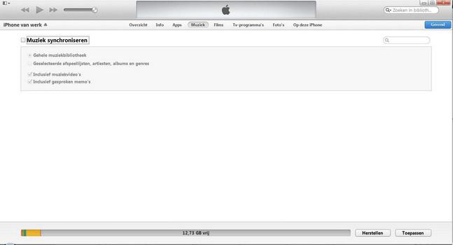 Apple iPhone 4 met iOS 7 - Software - PC-software installeren - Stap 12