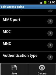 Samsung S5300 Galaxy Pocket - MMS - Manual configuration - Step 15