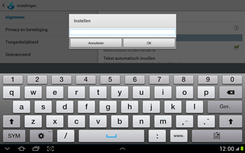 Samsung N8000 Galaxy Note 10-1 - Internet - Handmatig instellen - Stap 23
