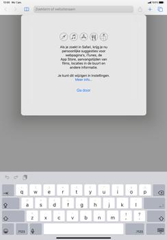 Apple iPad Pro 11 inch 2nd generation (2020) (Model A2230) - Internet - Hoe te internetten - Stap 3