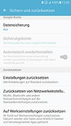 Samsung J510 Galaxy J5 (2016) DualSim - Fehlerbehebung - Handy zurücksetzen - Schritt 8