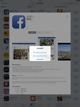 Apple iPad Pro 12.9 inch - Apps - Konto anlegen und einrichten - 18 / 35