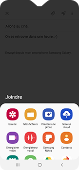Samsung Galaxy A20e - E-mail - envoyer un e-mail - Étape 12