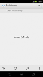 Sony Xperia V - E-Mail - Manuelle Konfiguration - Schritt 16