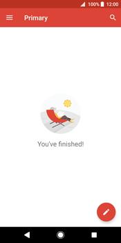 Sony Xperia XZ2 - E-mail - Manual configuration (gmail) - Step 16