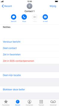 Apple iphone-7-plus-met-ios-13-model-a1784 - Beveiliging en ouderlijk toezicht - Nummer blokkeren - Stap 5