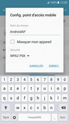 Samsung Galaxy S7 - Internet et connexion - Partager votre connexion en Wi-Fi - Étape 8