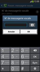 Samsung I9195 Galaxy S IV Mini LTE - Messagerie vocale - Configuration manuelle - Étape 8