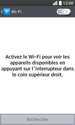 LG F70 - Internet et connexion - Accéder au réseau Wi-Fi - Étape 6